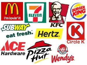 The 10 largest franchises in the world today.